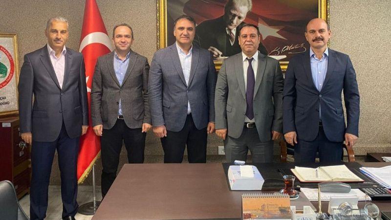 Kocaeli haber - KTO, Derince Gümrük Müdürlüğü ile bölge ticaretini görüştü