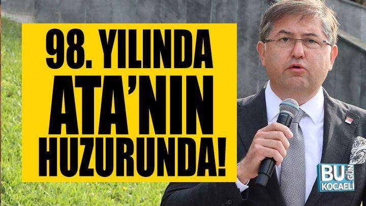 CHP Kocaeli, partinin 98. Yılında Ata'nın huzurunda