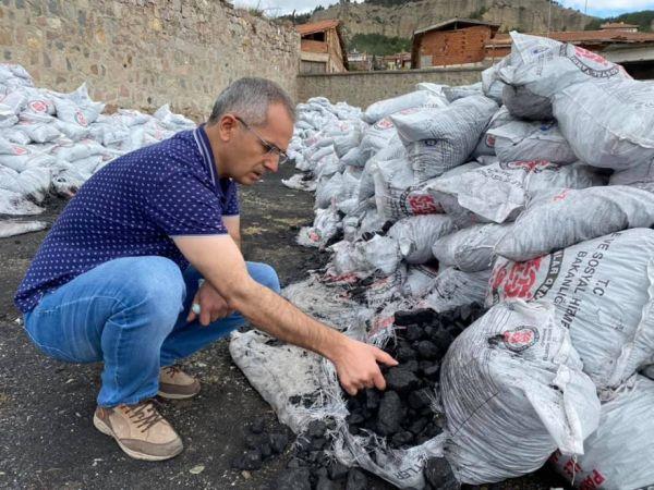 İhtiyaç sahibi ailelere bin 500 ton kömür dağıtılacak