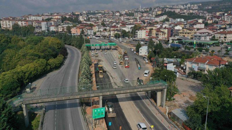 Kocaeli Haber - Tramvay Hattı Çalışmaları D100'de Güzergahı Değiştiriyor