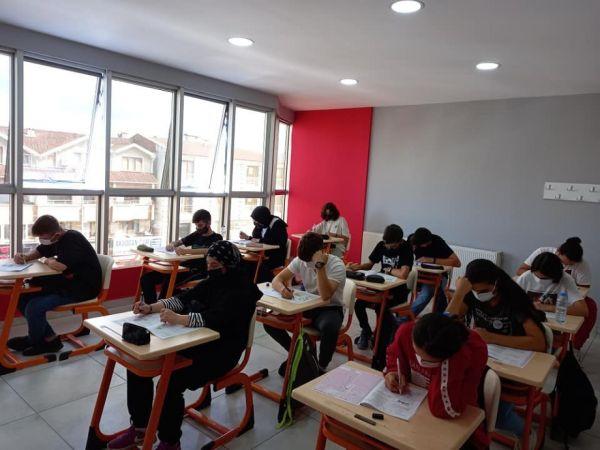 Açı kursta TYT deneme sınavları başladı