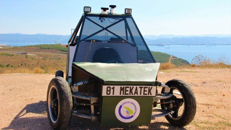 Kocaeli Haber - Yaptıkları Sürücüsüz Araç ile Askeri Operasyonlara Kolaylık Sağlamaya Aday Oldular