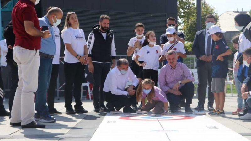 Avrupa Spor Haftası etkinlikleri kent meydanını renklendirdi