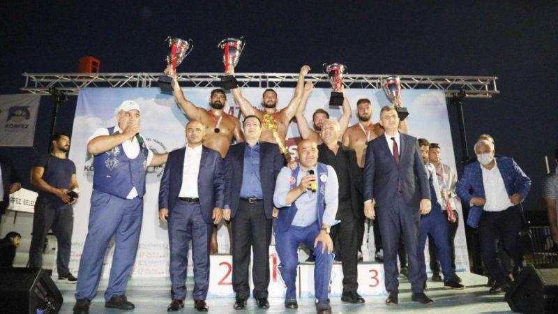 Kocaeli Haber - Güreş festivalinin birincisi belli oldu