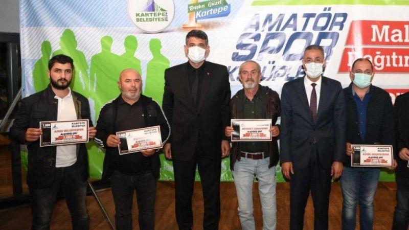 Kocaeli Haber - Mustafa Kocaman'dan amatörlere destek