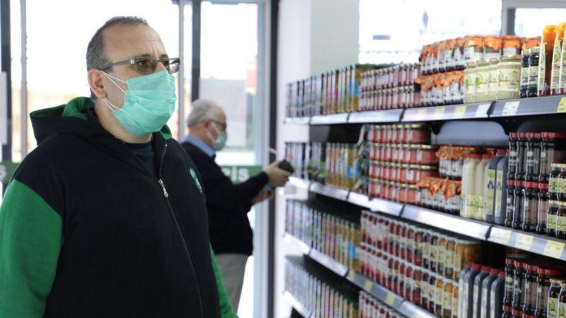 Kocaeli Haber - Çınar Halk Market'e  vatandaştan yoğun ilgi