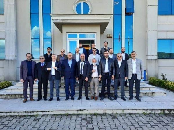 Kocaeli Haber - İşadamları Ereğli ve Zonguldak'daki fabrikaları inceledi
