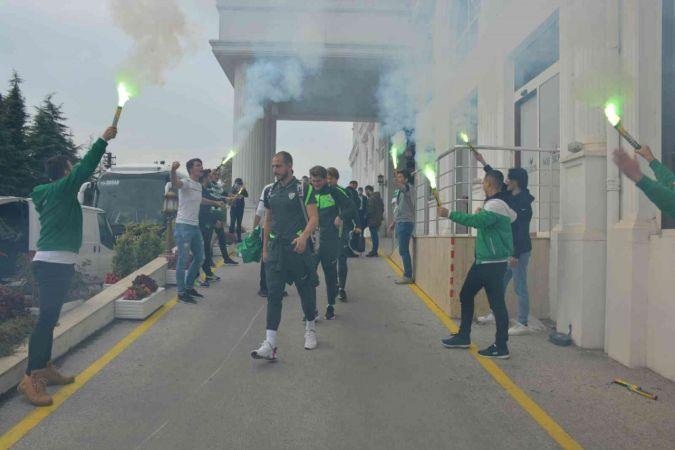 Kocaeli Haber - Bursaspor şampiyonluk yarışına girmeye kararlı