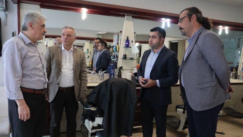 Kocaeli Haber - İzmit Belediyesi koordinatörlerinden Berberler Odası'na teşekkür