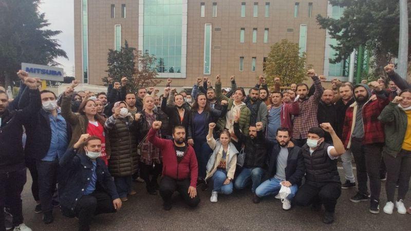 Kocaeli Haber - Mitsuba Otomotiv Fabrikası'nda İşten Çıkarılan İşçiler Tazminatlarına Kavuşacak