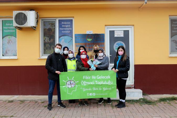 Öğrenciler Büyükşehir barınağını ziyaret etti