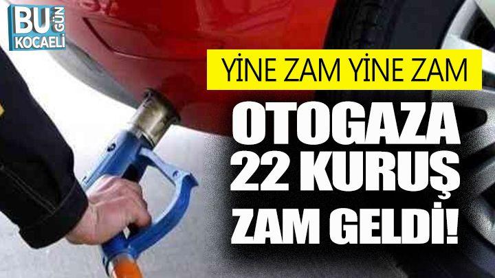 Kocaeli Haber - Otogaza Zam Geldi!