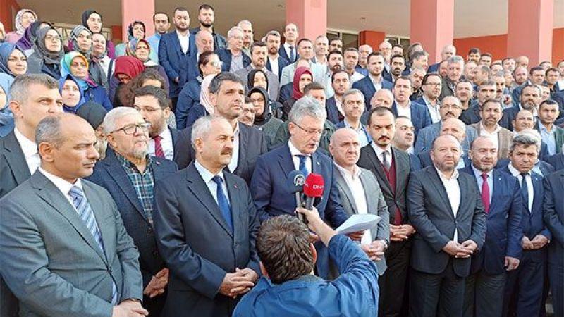 AKP, Avcı hakkında suç duyurusunda bulundu