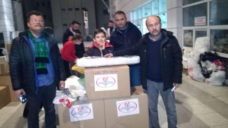 EYT'den Elazığ'a yardım