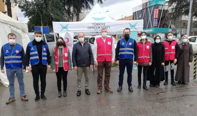 Türk Kızılayı TÜGVA işbirliği ile kan bağışı kampanyası başlattı