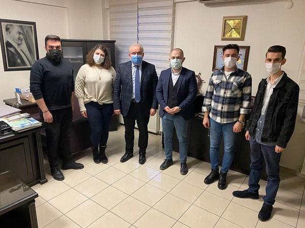 CHPli gençler İşeri'yi ziyaret etti