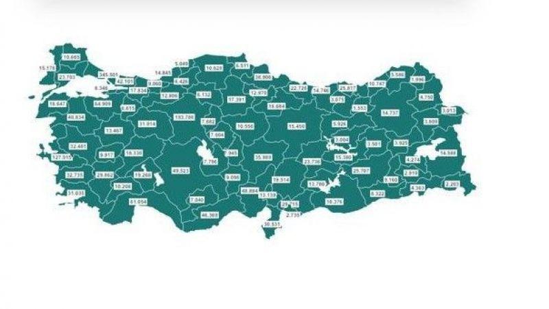 5 Mart Türkiye ve Kocaeli Aşı tablosu