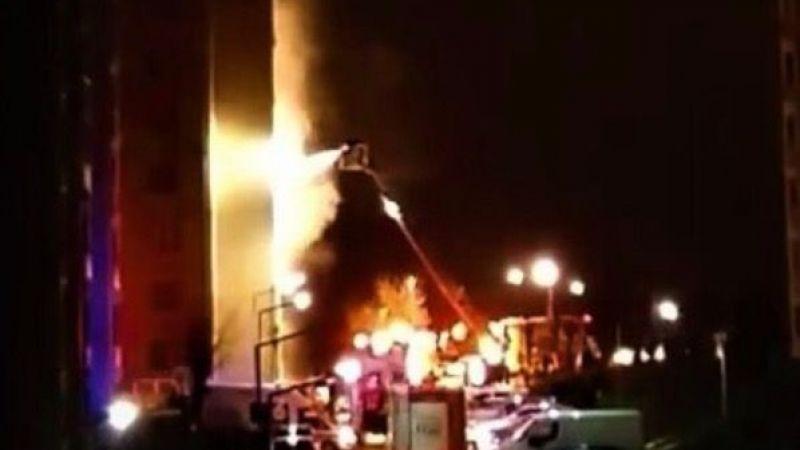 Patlayan şarj aleti evi alev alev yaktı