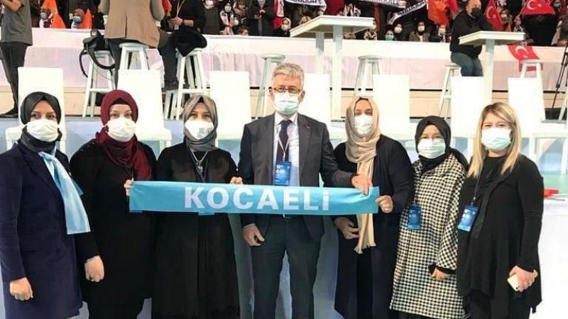 Başkan Ellibeş, 6.Olağan Kadın Kolları Kongresi'ne katıldı