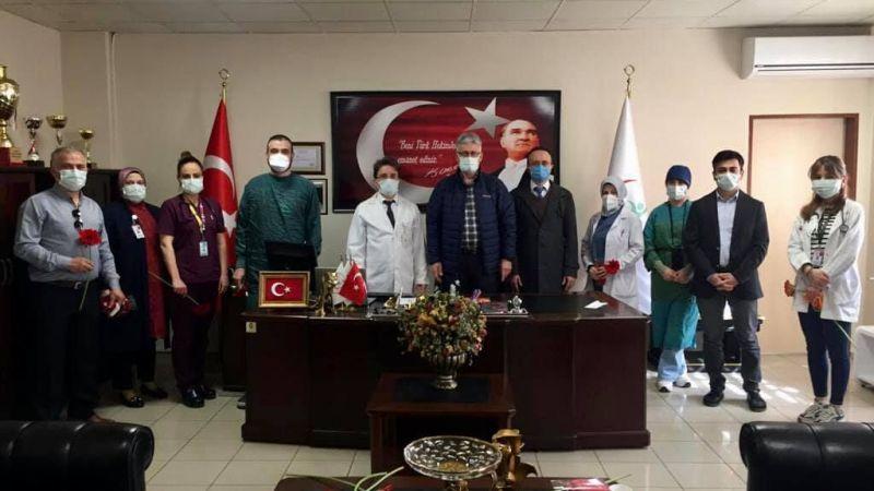 Başkan Ellibeş, Tıp Bayramını kutladı