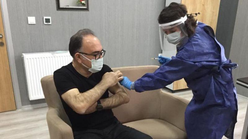 Kaymakam Karabulut'a 2. Doz Aşı yapıldı