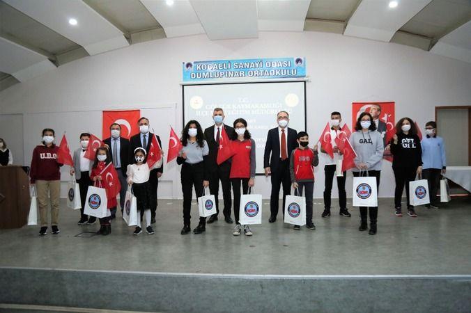Yarışmada kazananlara ödülleri verildi