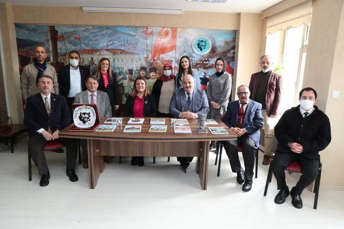 Hürriyet'ten Türk Ocakları'na ziyaret