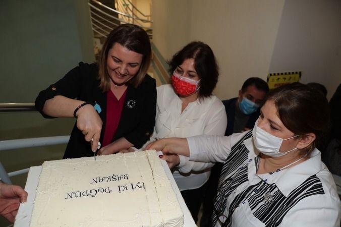 Personelden Hürriyet'e büyük doğum günü sürprizi