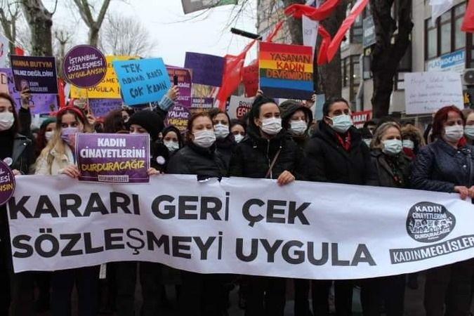 İstanbul sözleşmesine tepki büyüyor