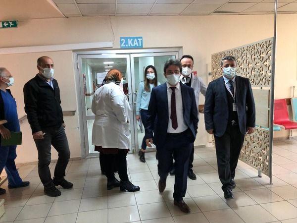 Hastanede bina turu gerçekleşti