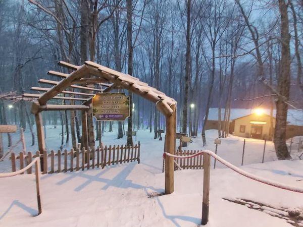 Eriklitepe ve Kartepe de kar yağıyor