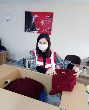 Muğla'dan Kardeş Eller'e kıyafet bağışı