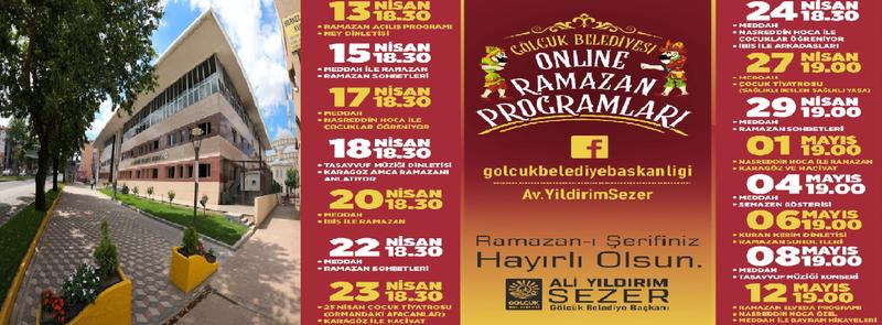 Gölcük'te Ramazan ayına özel online programlar