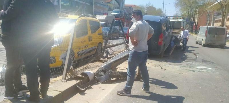 Gölcük D130'da kaza