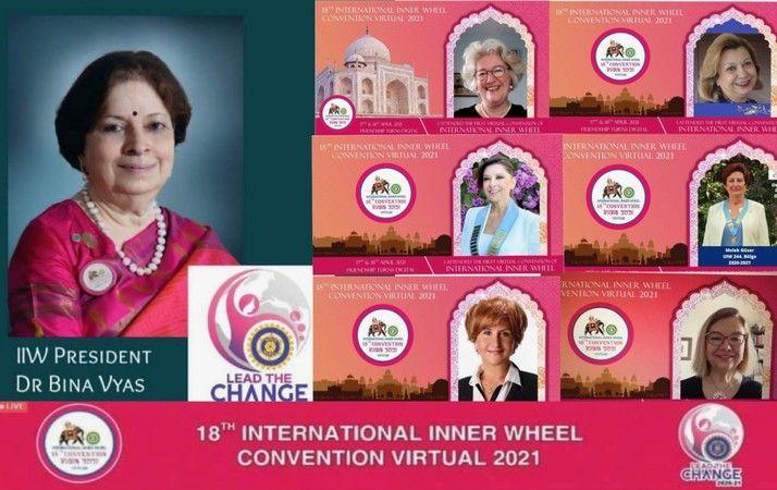 70 Ülkeden 4400 Kadın bu organizasyonda buluştu