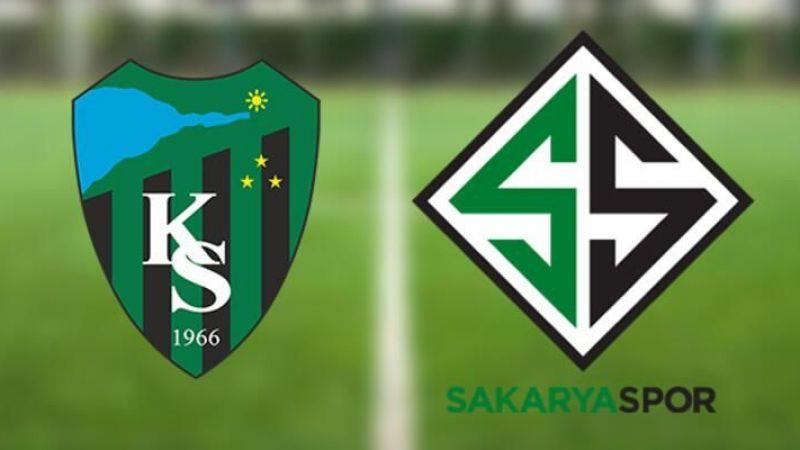 Kocaelispor-Sakaryaspor maçı hangi stad'ta