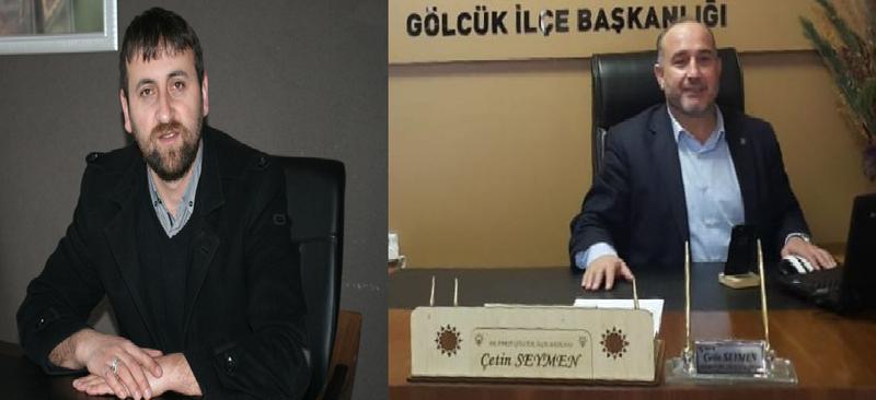 Aynacı'dan AKP ilçe Başkanına cevap