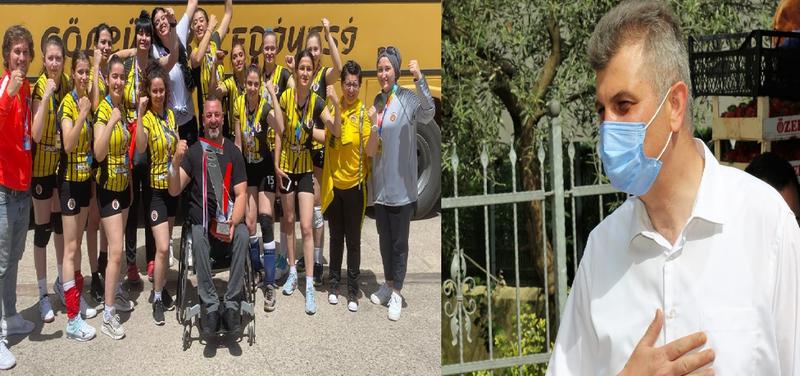 Gölcük İşitme Engelliler Voleybol Takımı TÜRKİYE ŞAMPİYONU OLDU