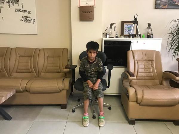 Kemik erimesi teşhisi konulan Muhammed Baki yardım bekliyor
