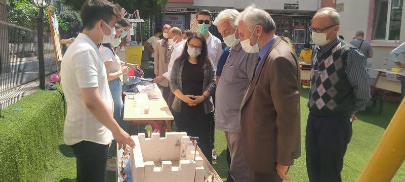 Başkan Temel Erten'den Bilim Şenliğine ziyaret