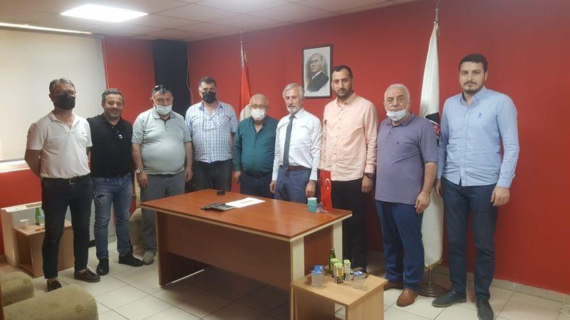 Nihat Abiş'den Gökcükspora ziyaret