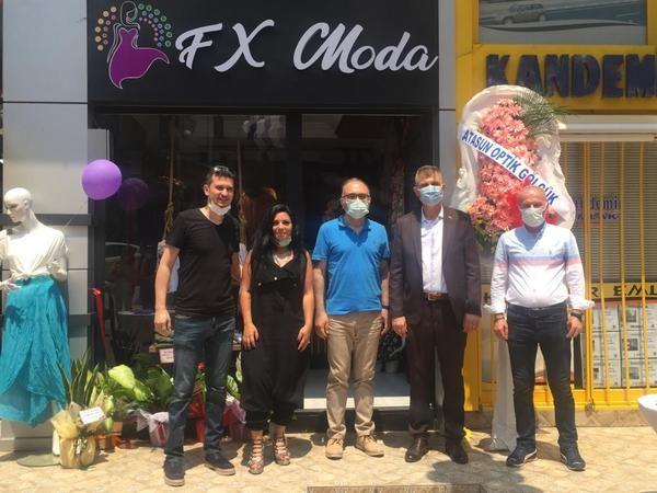 FX Moda açılışına yoğun ilgi