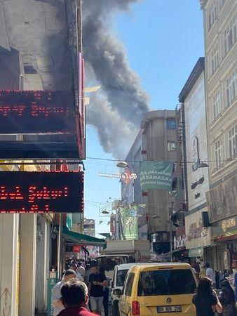 İzmit'te bir AVM'de yangın çıktı
