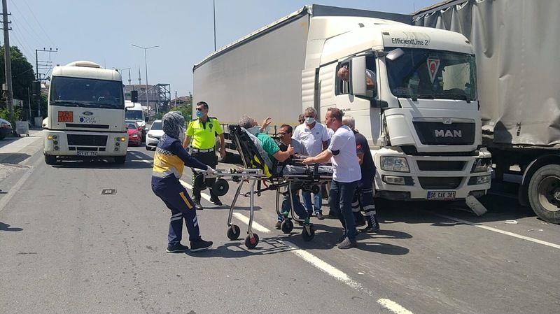 Gölcük Halıdere'de kaza