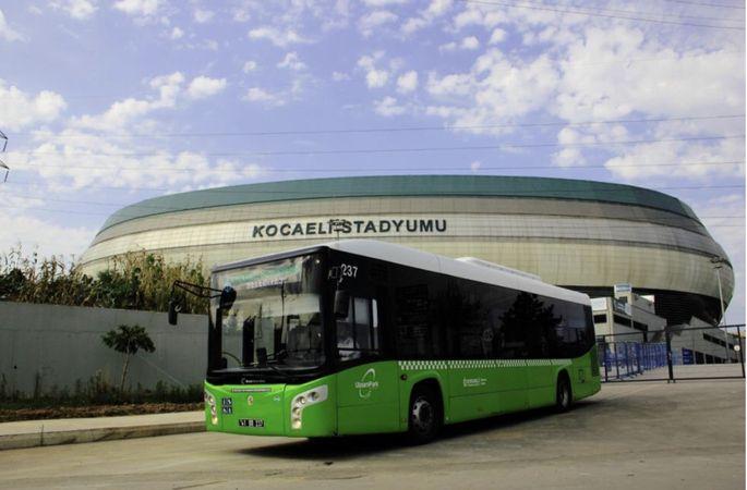 Ulaşımpark ile Kocaelispor maçlarına konforlu ulaşım