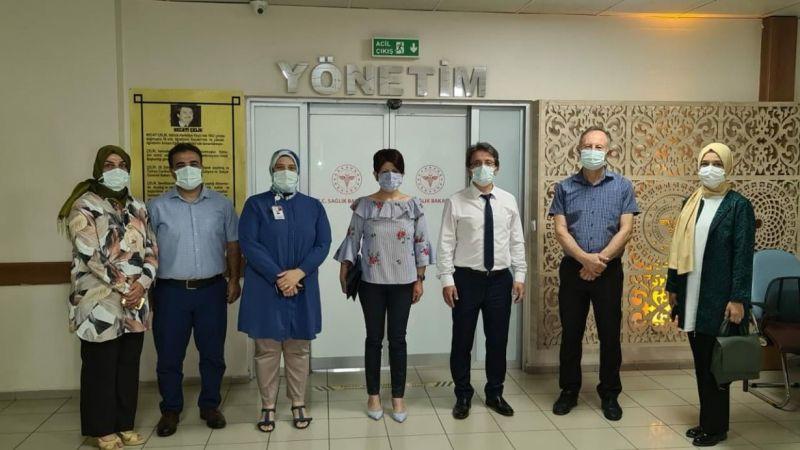 Hastanede KİT denetimi yapıldı