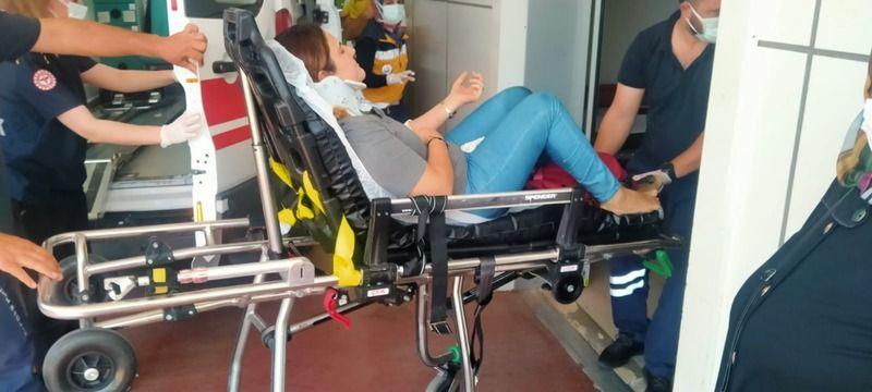 Değirmendere'de kaza; 2 yaralı