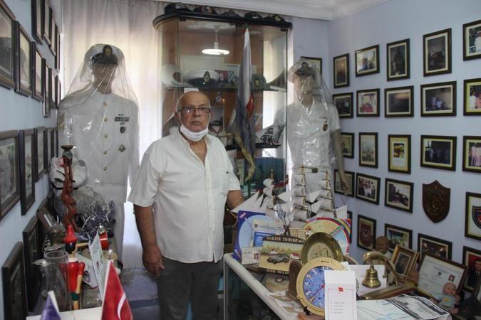 Gölcük'te 40 yıllık emeğini müzeye dönüştürdü