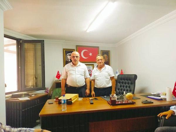 Gölcük MHP'den Nuhoğlu'na ziyaret