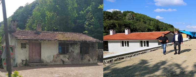 Gölcük Sofulardaki eski okul binası mahalle konağı oldu